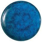 Oneida F1468994115 Studio Pottery Blue Moss 6 inch Porcelain Round Plate - 24/Case