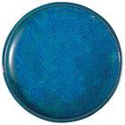Oneida F1468994132 Studio Pottery Blue Moss 8 1/2 inch Porcelain Round Plate - 24/Case