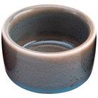 Oneida F1493020610 Terra Verde Dusk 2 oz. Porcelain Round Ramekin - 36/Case