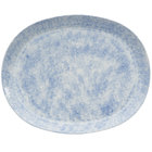 Oneida F1463060363 Studio Pottery Cloud 12 inch Porcelain Oval Platter - 12/Case