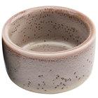 Oneida F1493015610 Terra Verde Natural 2 oz. Porcelain Round Ramekin - 36/Case
