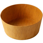 American Metalcraft PWP10 10 1/2 inch Round Natural Poplar Wood Basket
