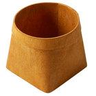 American Metalcraft PW4 4 1/8 inch Square Natural Poplar Wood Basket