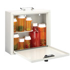 MMF Industries 201906106 Med-Master Standard Steel Medication Case with Combination Lock