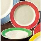 CAC R-115-R Rainbow Pasta Bowl 24 oz. - Red - 12/Case