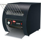 Hatco TQ3-10 Toast Qwik Black One or Two Side Conveyor Toaster with 2 inch Opening - 208V, 1780W