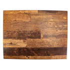 BFM Seating BW2432 SoHo 24 inch x 32 inch Barn Wood Rectangular Outdoor / Indoor Tabletop