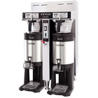 Fetco CBS-52H-15 C52036 Stainless Steel Twin Automatic Coffee Brewer - 120/208-240V