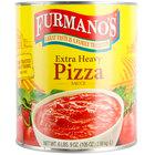 Furmano's #10 Can Extra Heavy Pizza Sauce - 6/Case
