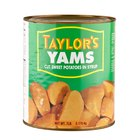#10 Can Cut Sweet Potatoes in Syrup - 6/Case