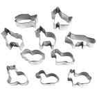 Ateco 7025 10-Piece Stainless Steel Animal Cutter Set (August Thomsen)