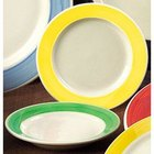 CAC R-115-YLW Rainbow Pasta Bowl 24 oz. - Yellow - 12/Case