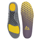 Ace N0076 Unisex Yellow / Black Gel Comfort Insole