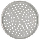 American Metalcraft T2007P 7 inch Perforated Tin-Plated Steel Pizza Pan