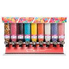 "Rosseto SD3221 Bulkshop Premium Candy Merchandiser Shelf with 9 Canisters - 48"" x 20 3/4"" x 30 3/8"""