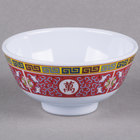Thunder Group 3006TR Longevity 9 oz. Round Melamine Rice Bowl - 12/Case