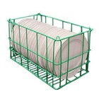 5 Compartment Catering Plate Basket for 7 inch Salad Plates - Store, Transport