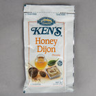 Ken's Foods 1.5 oz. Honey Dijon Mustard Dressing Packet - 60/Case