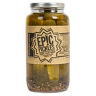 Epic Pickles 32 oz. Kosher Style Dill Pickle Spears - 12/Case