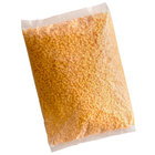 5 lb. High Temperature Diced Yellow Cheddar Cheese   - 4/Case