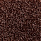 Cactus Mat 1451R-B3 Vinyl-Coil 3' Wide Brown Scraper Mat Roll - 3/8'' Thick