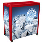 IRP Red Avalanche 300 Mobile 112 Qt. Cooler Merchandiser
