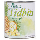 Regal Foods #10 Can Pineapple Tidbits in Natural Juice - 6/Case