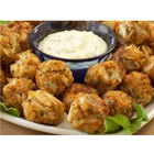 Linton's Seafood 1 oz. Mini Maryland Crab Cakes - 100/Case