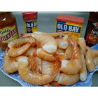 Linton's Seafood 5 lb. Shell-On Raw Gulf X-Large Shrimp