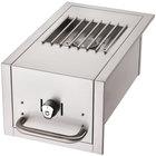 Crown Verity ZCV-SB-BI-NG Natural Gas Built-In Grill Side Burner - 15,000 BTU