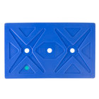 CaterGator Blue Full Size Ice Board for Food Pan Carriers - 20 3/4 inch x 12 3/4 inch x 1 1/2 inch