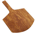 American Metalcraft OWP17 26 inch x 16 inch Olive Wood Serving Peel