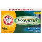 Arm & Hammer 144-Count Essentials Mountain Rain Dryer Sheets - 6/Case