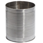 American Metalcraft CSM3 104 oz. Silver Stainless Steel Soup Can / Riser