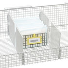 Metro QB03D qwikSIGHT Wire Basket Divider - 6 inch x 3 inch