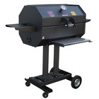 R & V Works SCG30C 30 inch Smokin' Cajun Charcoal Grill / Smoker