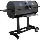 R & V Works SCG40C 40 inch Smokin' Cajun Charcoal Grill / Smoker