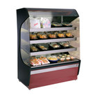 Alto-Shaam HSM-48/4S 48 inch Reach-In Heated Display Case with 4 Shelves - 208/240V