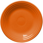 Homer Laughlin 465325 Fiesta Tangerine 9 inch Luncheon Plate - 12 / Case