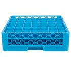 Carlisle RG49-114 OptiClean 49 Compartment Glass Rack with 1 Extender