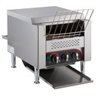 "Avatoast T3300B 10"" Wide Conveyor Toaster with 3"" Opening - 208V, 3300W"