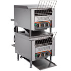 "Avatoast T1402S Double Stacked Conveyor Toaster with 3"" Opening - 120V, 600 Slices per Hour"