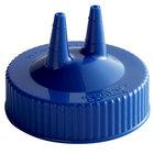 Vollrath 2300-44 Traex® Blue Twin Tip™ Wide Mouth Bottle Cap