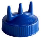 Vollrath 3300-44 Traex® Blue Tri Tip™ Wide Mouth Bottle Cap