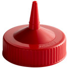 Vollrath 4913-02 Traex® Red Single Tip Wide Mouth Bottle Cap