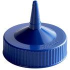 Vollrath 4913-44 Traex® Blue Single Tip Wide Mouth Bottle Cap