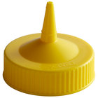 Vollrath 4913-08 Traex® Yellow Single Tip Wide Mouth Bottle Cap