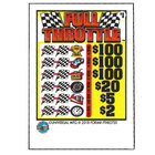Full Throttle 3 Window Pull Tab Tickets - 3120 Tickets per Deal - Total Payout: $2611