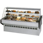 Federal SQ-3CB 36 inch Market Series Curved Glass Refrigerated Bakery Case