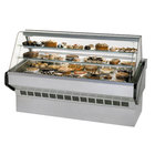 Federal SQ-4B 48 inch Market Series Curved Glass Dry Bakery Case